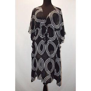 echo Short Sleeve Printed Black/white Cover 1sz